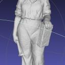 Kobieta z cegłą2