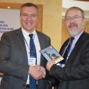 Konferencja o Jedwabnym Szlaku, dyrektor IICAS, dr Dmitriy Voyakin i dr Marek Miłosz